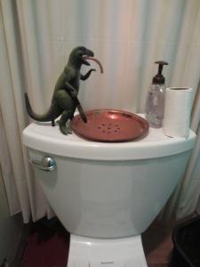 Dinosaur Sink