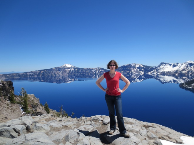 Me at Crater Lake