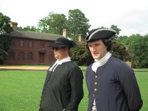 Two Men Talking