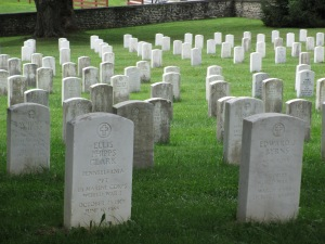 White Tombstones