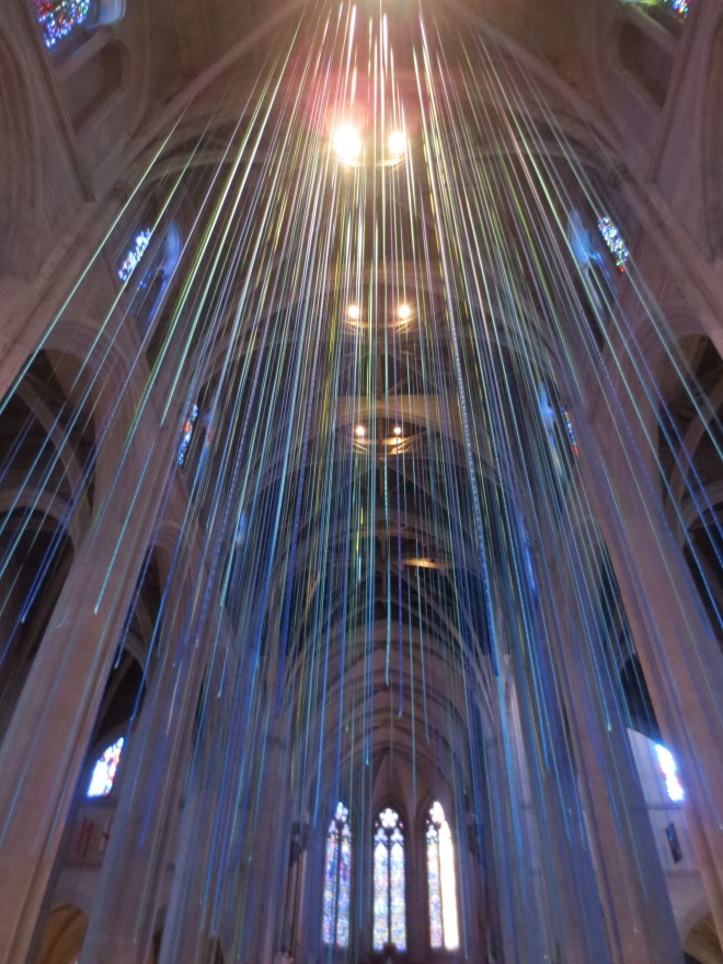 Inside Grace Cathedral