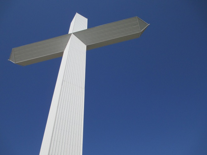 Cross and sky