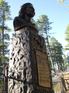 JB Hickok Monument