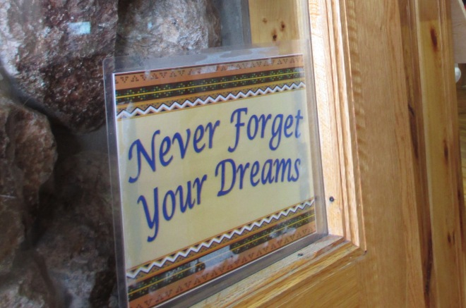 Never Forget Your Dreams
