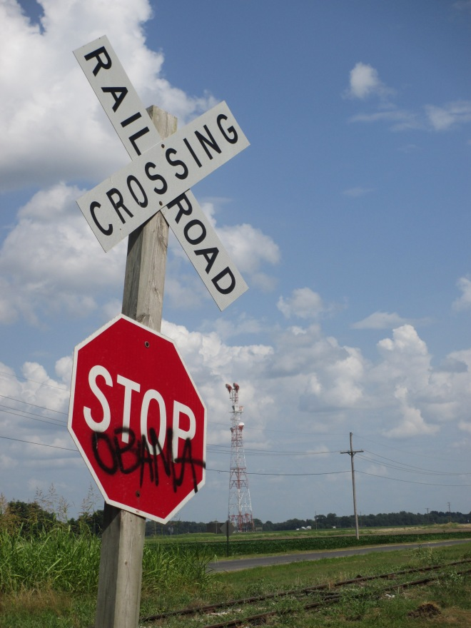 Stop Obama Crossing