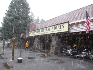 Snow at the General Store