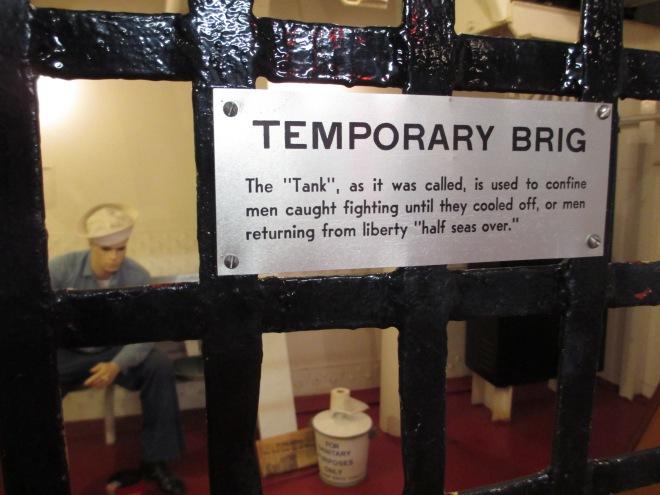 Temporary Brig