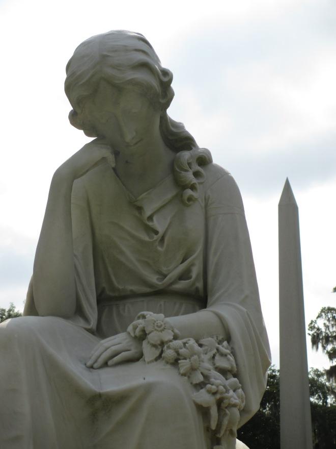 Contemplative Statue