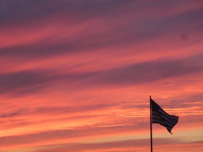 Flag and Sky