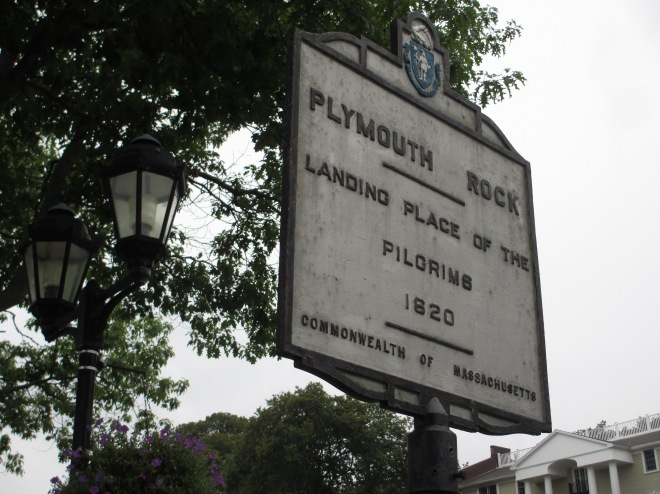 Plymouth Rock Sign